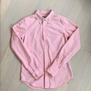 Rugby Ralph Lauren pink oxford shirt